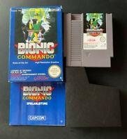Bionic Commando Nintendo NES PAL