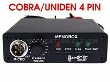 Euro CB Memobox Digital Recorder/Transmitter/Watergate - Cobra/Galaxy/Uniden CBs
