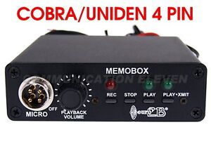 Euro CB Memobox Digital Recorder/Transmitter/Watergate - Cobra/Galaxy/Uniden CBs