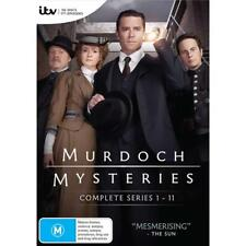 Murdoch Mysteries Season Series 1+2+3+4+5+6+7+8+9+10+11 DVD Box Set R4