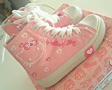 Baskets montantes rose irisé zip hello kitty T 24