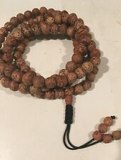 Bodhi Seed Mala Meditation 9 mm*108 Prayer Bead Bracelet/Necklace Tibetan