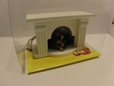 KAHLERT cheminée 41663 avec éclairage four Maison de Poupées meubles poupée