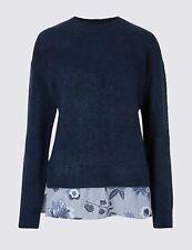 634935dd53d Mock Shirt Jumper in Women's Jumpers & Cardigans for sale | eBay