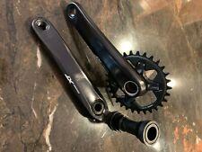 Shimano XT FC-M1000 1 x 12s Mountain Bike Crankset 170mm with 30T chainring