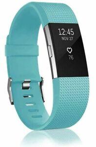 Fitbit Alta, Charge 2 Sport/Classic Accessory Band - Black, Blue, Purple