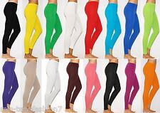 Womens Plus Size Full Length Thick Cotton Leggings