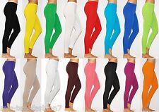 Womens Full Length Thick Winter Cotton Leggings Size 8-28
