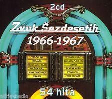 Zvuk Sezdesetih 2 CD 1966 - 1967 Croatia Kroatien Hrvatska 54 Hita Gloria Sandra