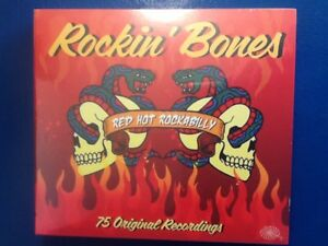 ROCKIN. BONES.      RED. HOT. ROCKABILLY.     THREE. DISC. BOXSET
