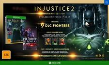 Injustice 2 Ultimate Edition Xbox ONE PAL *NEW*+Warranty!!