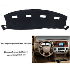 For Dodge Ram1500 Ram2500 3500 2002-2008 DashMat Dashboard Cover Dash Cover Mat