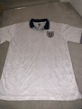 England Football Shirt Offical Retro Large