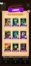 coin master forest set all 6 cards