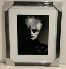 GREG GORMAN Andy Warhol, Los Angeles, 1986 Iris Print 30/250 Signed with COA