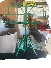 Ast4442Gn Green-Portable Sheet Music Stand With A Heavy-Duty Carrying Pouch