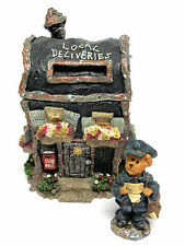 Boyds #19912-1E Mr.Postie's Mail Drop Mini Village Route 33 1/3 series New w Box