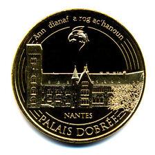 44 NANTES Palais Dobrée, Couleur or, 2016, Monnaie de Paris