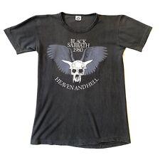 Black Sabbath Vintage T-Shirt Heaven And Hell Tour 1980 80s Vintage Rare Og