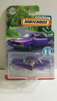 MATCHBOX 2019 MOVING PARTS MBX ROAD TRIP '64 PONTIAC GRAND PRIX PURPLE VHTF