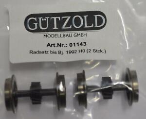 HO Gützold Radsatz bis Bj. 1992 (2 Stück) 01143