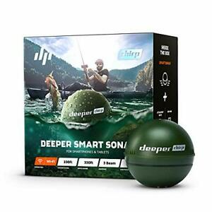 Deeper Chirp Smart Sonar Castable and Portable WiFi Fish Finder for Kayaks an...