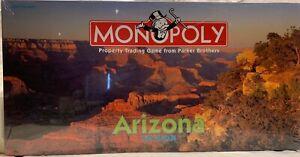 1998 Rare Monopoly Game ARIZONA Edition Brand NEW Sealed
