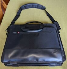 Lenovo/IBM Thinkpad Black Nylon Laptop Bag Notebook Case Topload Bag Briefcase