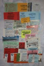 CARDIFF & BLUES RUGBY TICKETS 1976 - 2014 GROUP of 40 HOME & AWAY