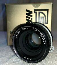 Nikon Nikkor 50mm F/1.8 AI Manual Focus Lens New W/ Original Box