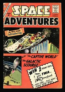 SPACE ADVENTURES #33 ORIGIN AND 1ST APP CAPTAIN ATOM  DITKO