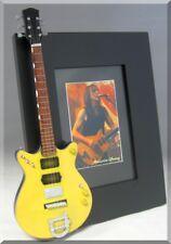 MALCOLM YOUNG  Miniature Guitar Frame AC/DC
