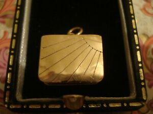 Beautiful Vintage Finely Crafted 9CT Gold: Opening Casket Locket: Pendant/Charm