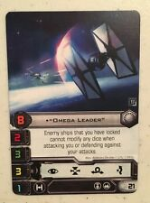 Star Wars X-Wing Game Omega Leader Alt Art Card 2017 Q3 Official FFG OP prize
