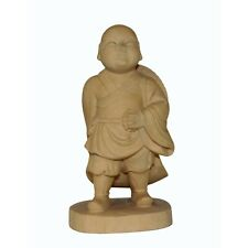 Artist Crafter Solid Quality Light Wood Travel Monk Statue n402S