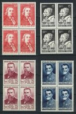 France Stamps   1949   Telegraph & telephone Cong #845-848   MNH OG   Block of 4