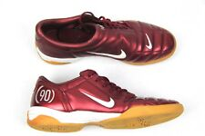 Nike Total 90 III Indoor Mens Burgundy Soccer Shoes Size 12 Rare