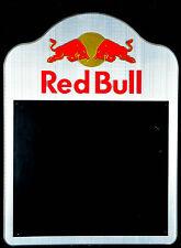 Red Bull 3D Kreidetafel, Tafel, Werbetafel, Edelstahl