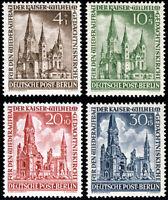 BERLIN 1953, MiNr. 106-109, 106-09, postfrisch, Mi. 25,-