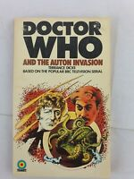 Doctor Who - Auton Invasion - By Terrance Dicks (1974. Paperback Book) - Free PP