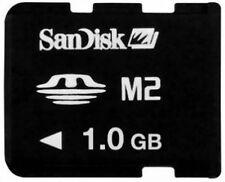 San Disk M2 Memory Stick Micro 1GB Neu