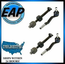 For BMW E30 E36 318i 318is 325e 325es 325i Steering Tie Rod Set Of 2 NEW