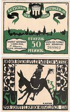 Germany 50 Pfennig 1921 Notgeld Kitzingen UNC Uncirculated Banknote - No.6