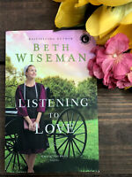 Listening to Love by Beth Wiseman Brand New-An Amish Journey-Paperback