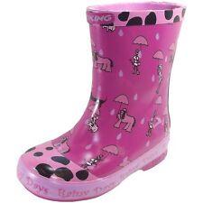 Viking Rainy Days Mädchen Gummistiefel pink