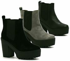 Elasticated High (3-4.5 in.) Unbranded Boots for Women
