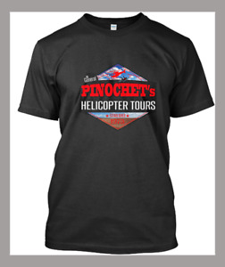 New Pinochet - Pinochet's Helicopter birthday trend gift T-shirt Tee Size S-2XL