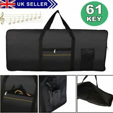 More details for 61 key keyboard bag electronic piano cover case for yamaha casio  portable uk