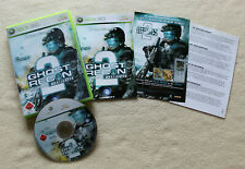 Tom Clancy's Ghost Recon: Advanced Warfighter 2 (Microsoft Xbox 360 , 2007)