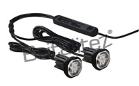 LED Hideaway Lights,12/24V, Flush/Bracket, LightBar Recovery Strobe Beacon AMBER